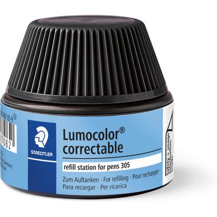 STAEDTLER Lumocolor Refill Station 487 05, schwarz