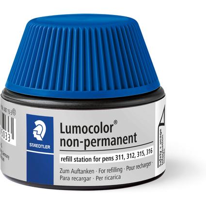 STAEDTLER Lumocolor Refill-Station non-permanent, blau