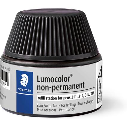 STAEDTLER Lumocolor Refill-Station non-permanent, schwarz
