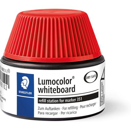 STAEDTLER Lumocolor Refill-Station 488 51, rot