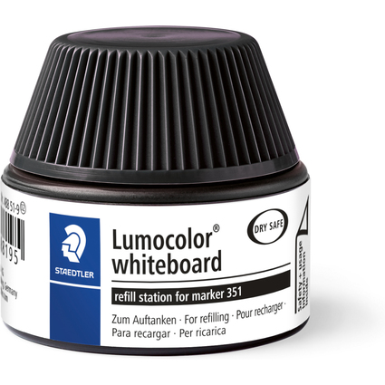 STAEDTLER Lumocolor Refill-Station 488 51, schwarz