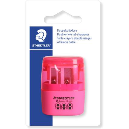 STAEDTLER Doppel-Spitzdose 51260F, neon pink