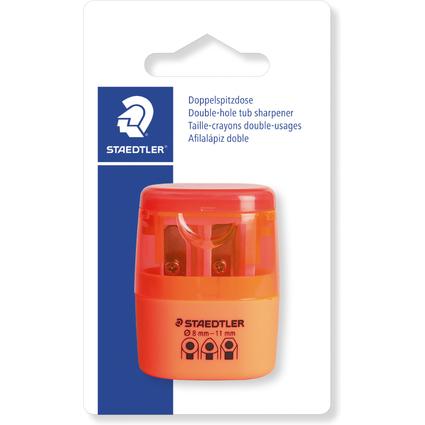 STAEDTLER Doppel-Spitzdose 51260F, neon orange