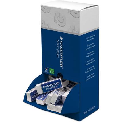 STAEDTLER Kunststoff-Radierer Mars plastic, 40er Display