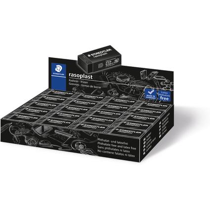 STAEDTLER Kunststoff-Radierer rasoplast B40, schwarz