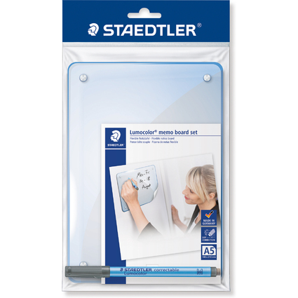 STAEDTLER Lumocolor Memo Board Set