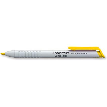 STAEDTLER Lumocolor non-permanent omnichrom 768N, gelb