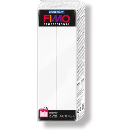 FIMO PROFESSIONAL Modelliermasse, ofenhärtend, weiß, 350 g