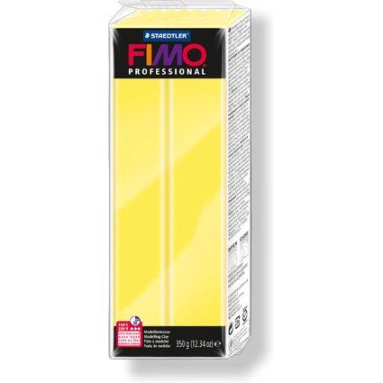 FIMO PROFESSIONAL Modelliermasse, zitronengelb, 350 g