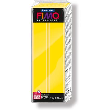 FIMO PROFESSIONAL Modelliermasse, echtgelb, 350 g