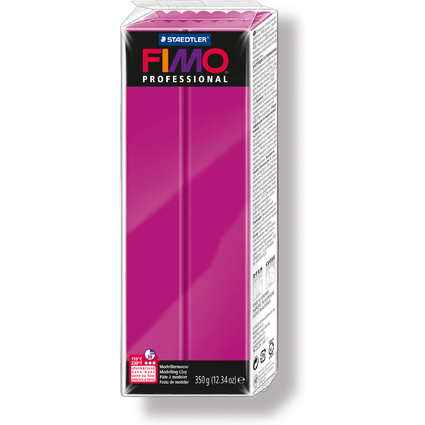 FIMO PROFESSIONAL Modelliermasse, echtmagenta, 350 g