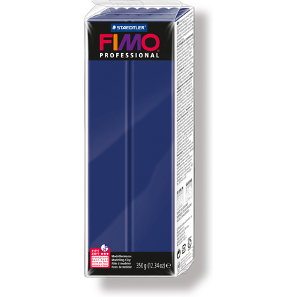 FIMO PROFESSIONAL Modelliermasse, marineblau, 350 g