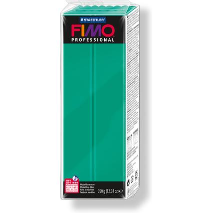 FIMO PROFESSIONAL Modelliermasse, echtgrün, 350 g