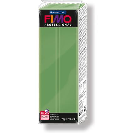 FIMO PROFESSIONAL Modelliermasse, blattgrün, 350 g