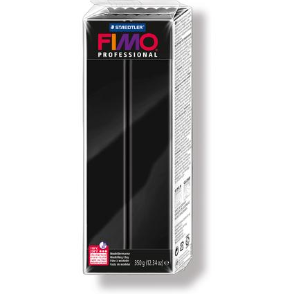 FIMO PROFESSIONAL Modelliermasse, schwarz, 350 g