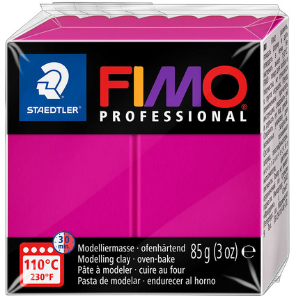 FIMO PROFESSIONAL Modelliermasse, echtmagenta, 85 g