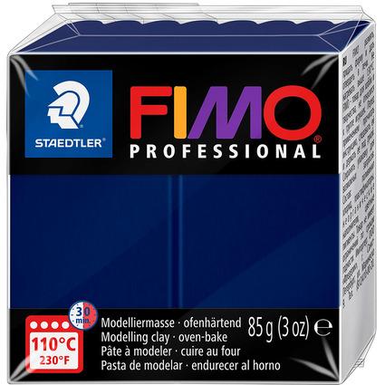 FIMO PROFESSIONAL Modelliermasse, marineblau, 85 g