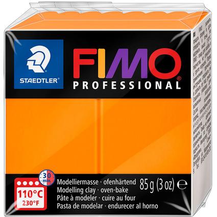 FIMO PROFESSIONAL Modelliermasse, ofenhärtend, orange, 85 g