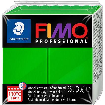 FIMO PROFESSIONAL Modelliermasse, saftgrün, 85 g