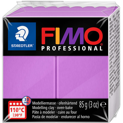 FIMO PROFESSIONAL Modelliermasse, lavendel, 85 g