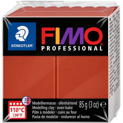 FIMO PROFESSIONAL Modelliermasse, terrakotta, 85 g