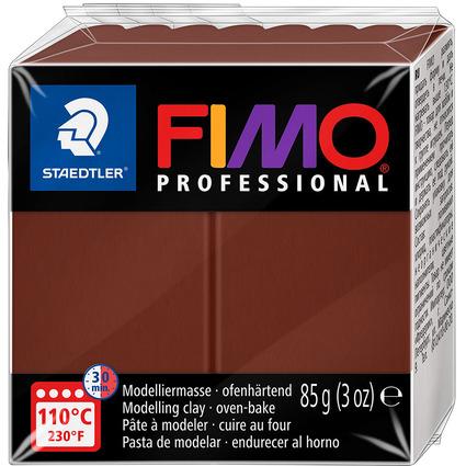 FIMO PROFESSIONAL Modelliermasse, schokolade, 85 g