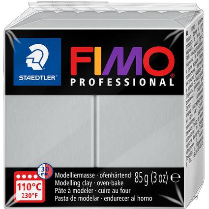 FIMO PROFESSIONAL Modelliermasse, delfingrau, 85 g