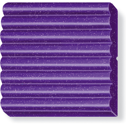 FIMO EFFECT Modelliermasse, ofenhärtend, glitter-lila, 57 g