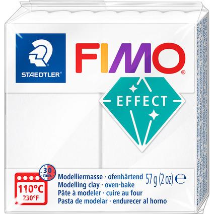FIMO EFFECT Modelliermasse, ofenhärtend, transparent, 57 g