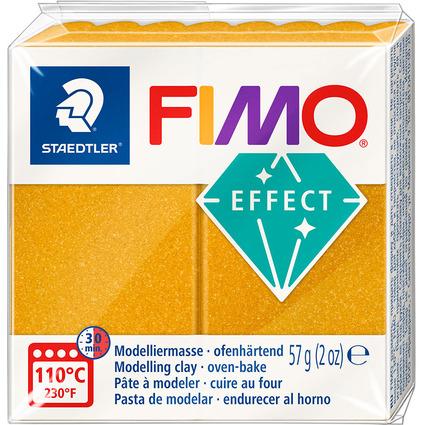 FIMO EFFECT Modelliermasse, ofenhärtend, metallic-gold, 57 g