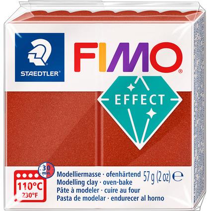 FIMO EFFECT Modelliermasse, ofenhärtend, metallic-kupfer