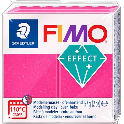FIMO EFFECT Modelliermasse, ofenhärtend, rubinquarz, 57 g