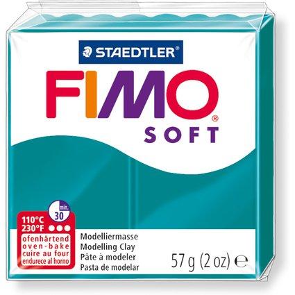 FIMO SOFT Modelliermasse, ofenhärtend, petrol, 57 g