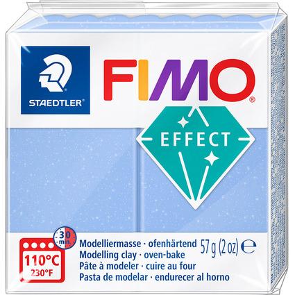 FIMO EFFECT Modelliermasse, ofenhärtend, blauachat, 57 g