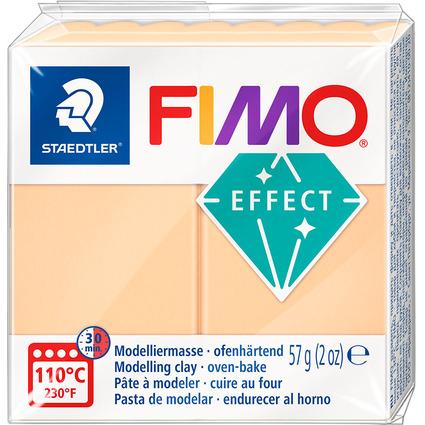 FIMO EFFECT Modelliermasse, ofenhärtend, pastell-pfirsich
