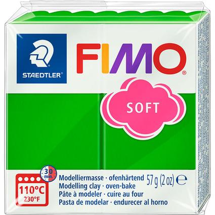 FIMO SOFT Modelliermasse, ofenhärtend, tropischgrün, 57 g