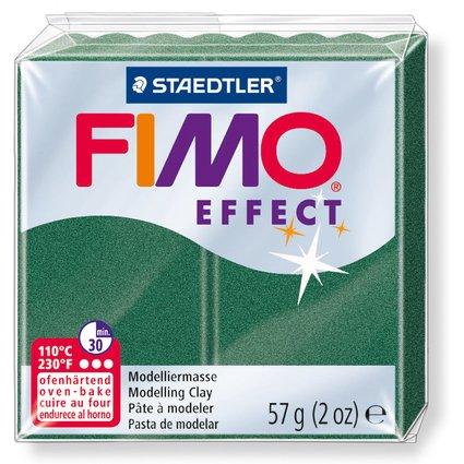 FIMO EFFECT Modelliermasse, ofenhärtend, metallic-opalgrün