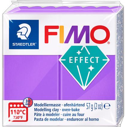 FIMO EFFECT Modelliermasse, ofenhärtend, transparent-lila