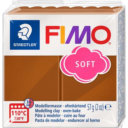 FIMO SOFT Modelliermasse, ofenhärtend, caramel, 57 g