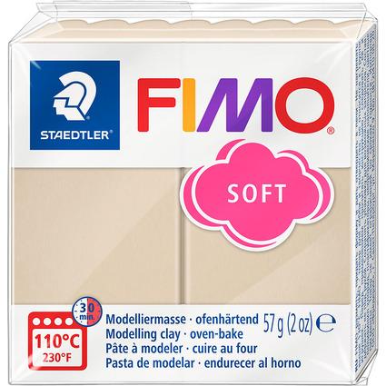 FIMO SOFT Modelliermasse, ofenhärtend, sahara, 57 g
