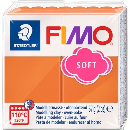 FIMO SOFT Modelliermasse, ofenhärtend, cognac, 57 g