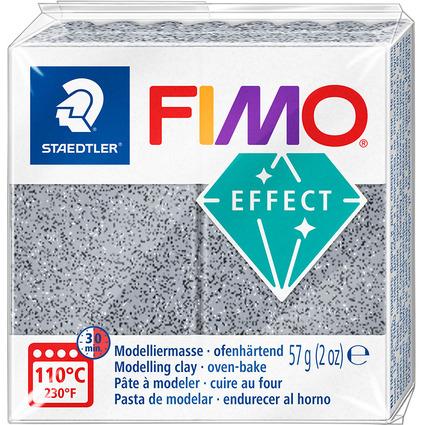 FIMO EFFECT Modelliermasse, ofenhärtend, granit, 57 g