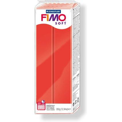 FIMO SOFT Modelliermasse, ofenhärtend, indischrot, 350 g