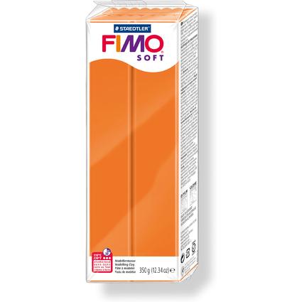 FIMO SOFT Modelliermasse, ofenhärtend, mandarine, 350 g
