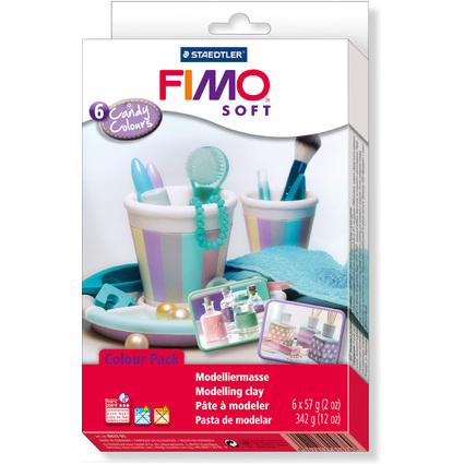 "FIMO SOFT Modelliermasse-Set Colour Kit ""Candy Colours"""
