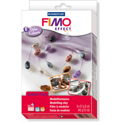 "FIMO SOFT Modelliermasse-Set Colour Kit ""Glam Colours"""