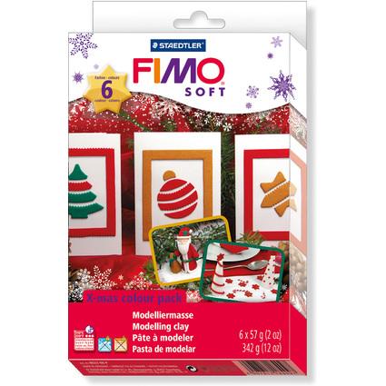 "FIMO SOFT Modelliermasse-Set ""Christmas"" mit Motivformen"