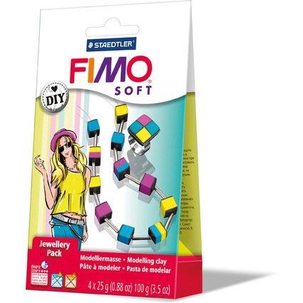 "FIMO SOFT Schmuck-Set ""Würfel"", ofenhärtend"