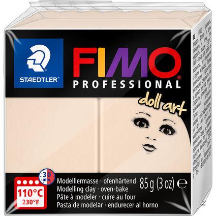FIMO PROFESSIONAL Modelliermasse doll art, beige, 85 g