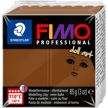 FIMO PROFESSIONAL Modelliermasse doll art, noisette, 85 g